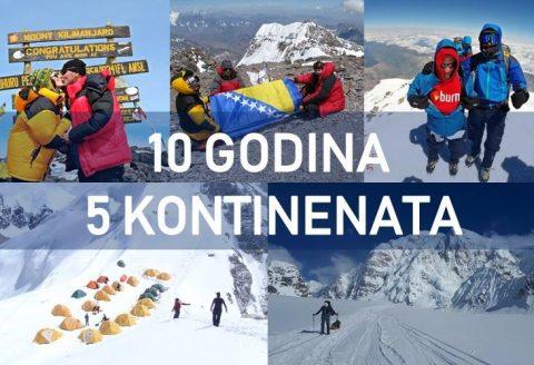 Prezentacija: 10 godina 5 kontinenata by Adis Čingić