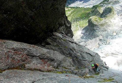 Alpinistička meza, Cassinov smjer u Piz Badile